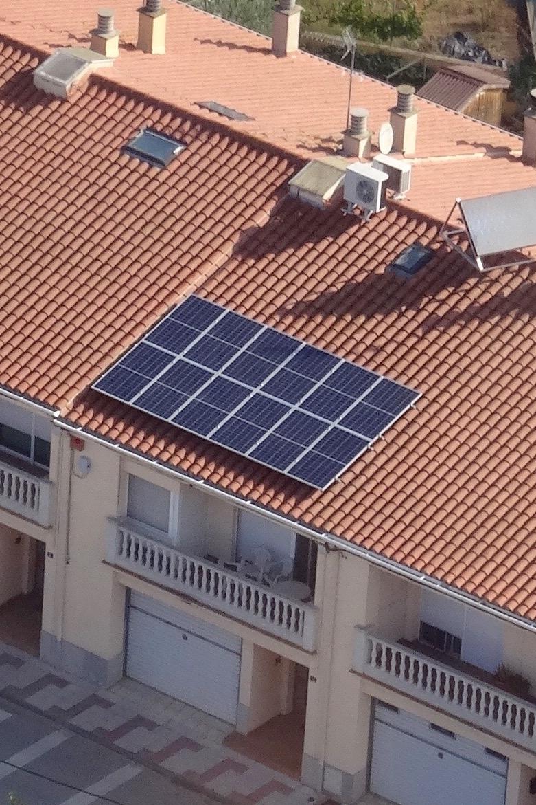 Instalación residencial – 3,48 kWp