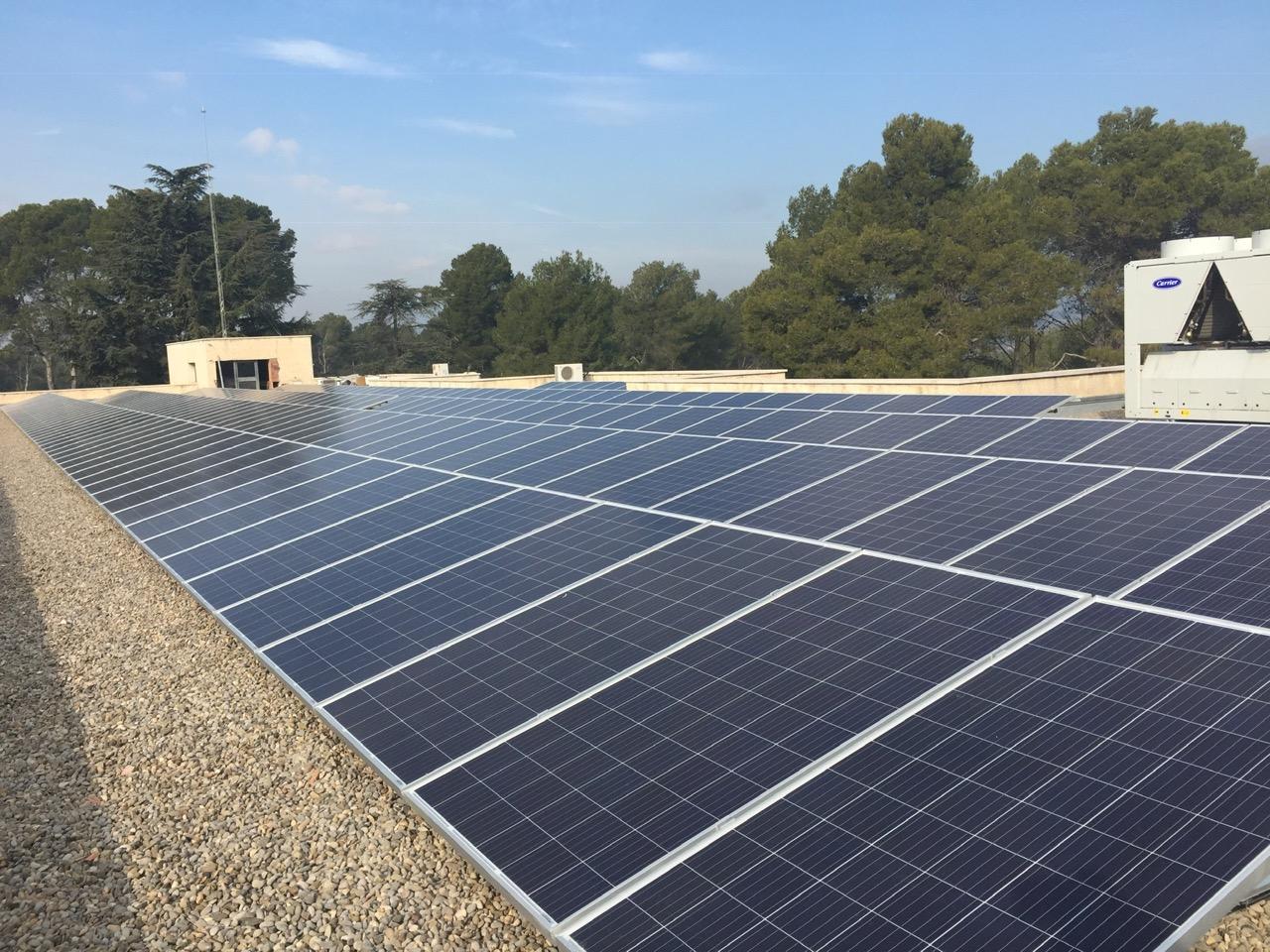 Instalación industrial – 70 kWp