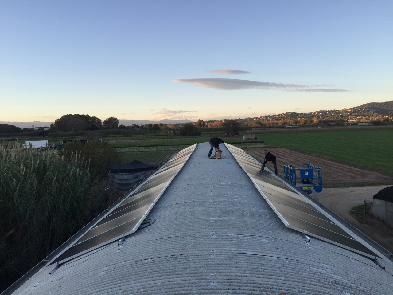 Instalación agrícola – 14 kWp