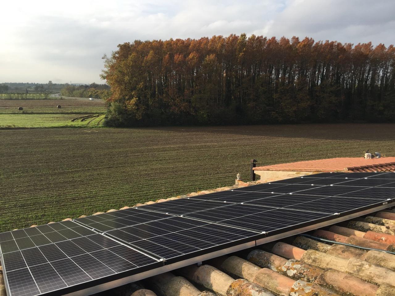Instalación residencial – 4,13 kWp