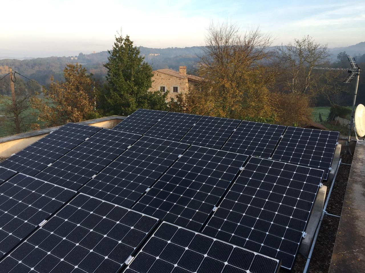 Instalación residencial – 4,87 kWp