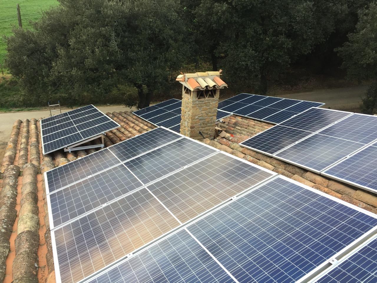 Instalación residencial – 10'5 kWp