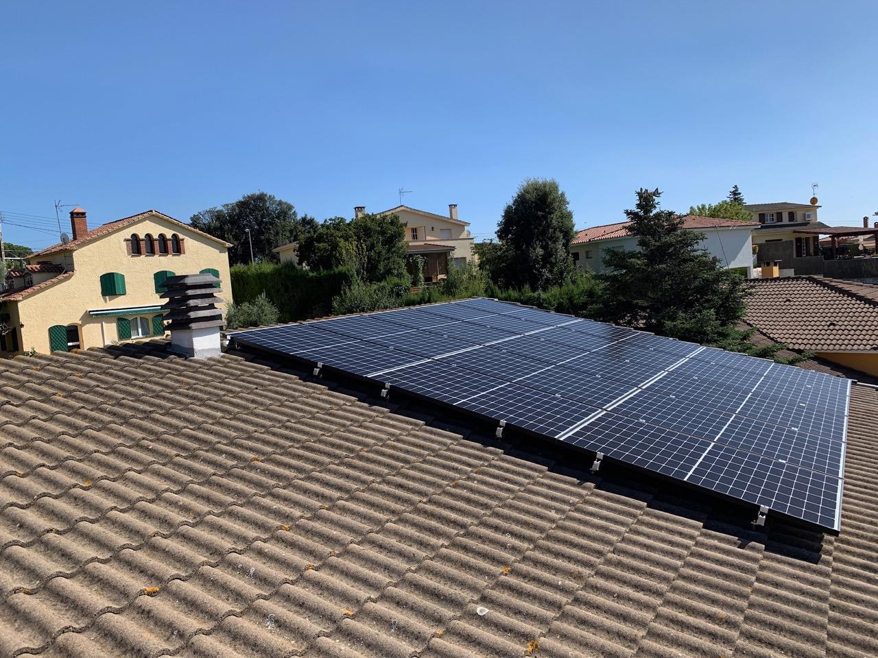 Instalación residencial – 4 kW