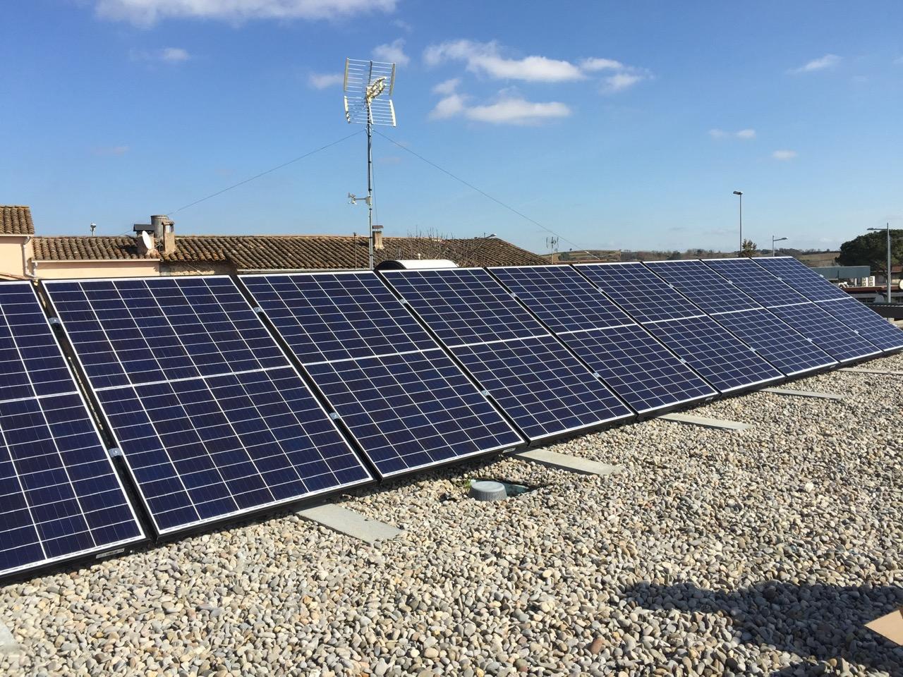Instalación residencial – 2,5 kW
