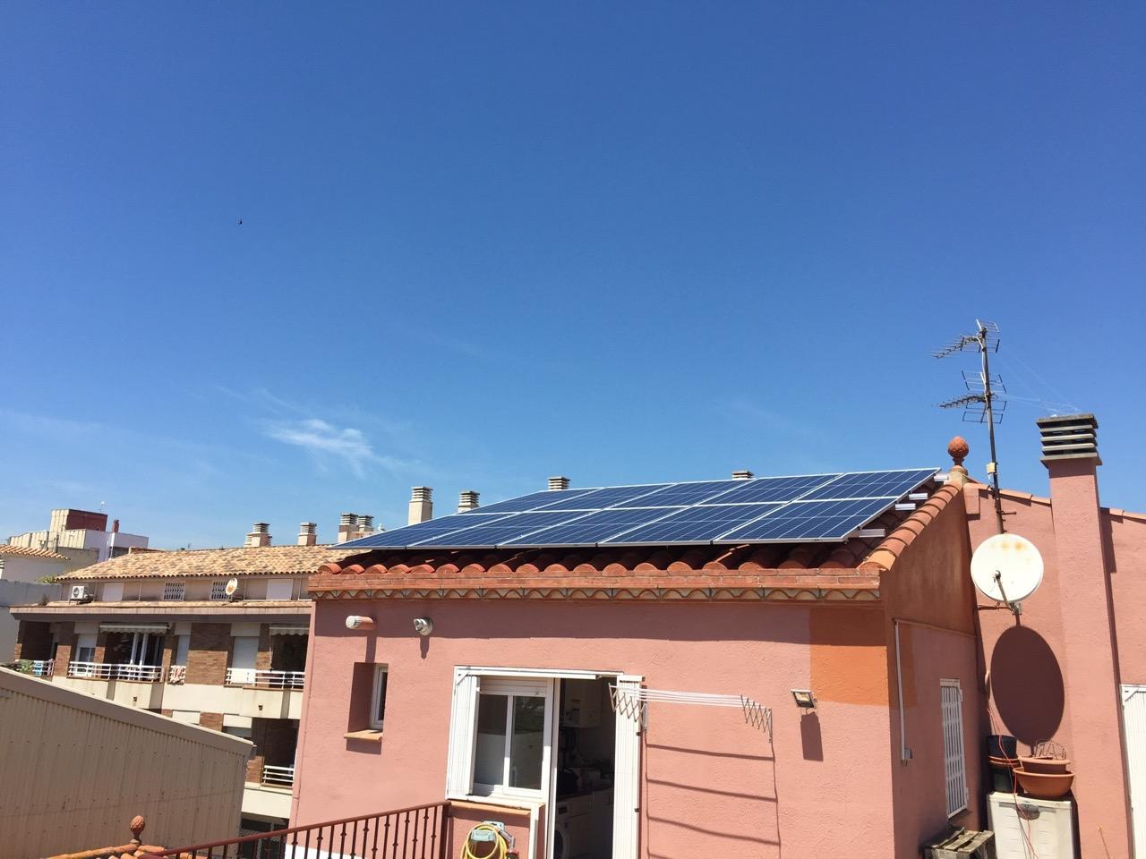 Instalación residencial – 3 kW