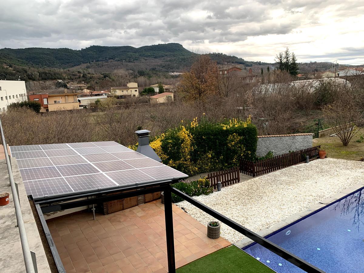 Instal·lació residencial – Pèrgola 3kW